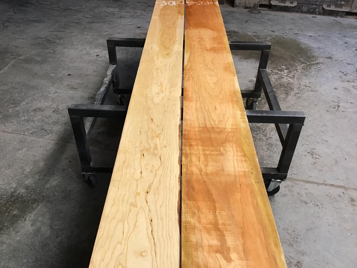wooden tops, premium lumber, high quality calico cherry