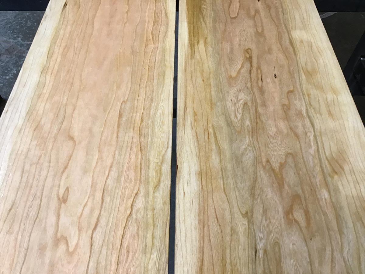 wooden tops, premium lumber, calico cherry