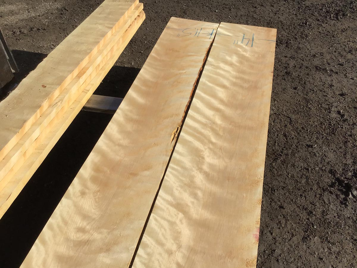 yellow birch, flame birch, high quality lumber, wooden tops