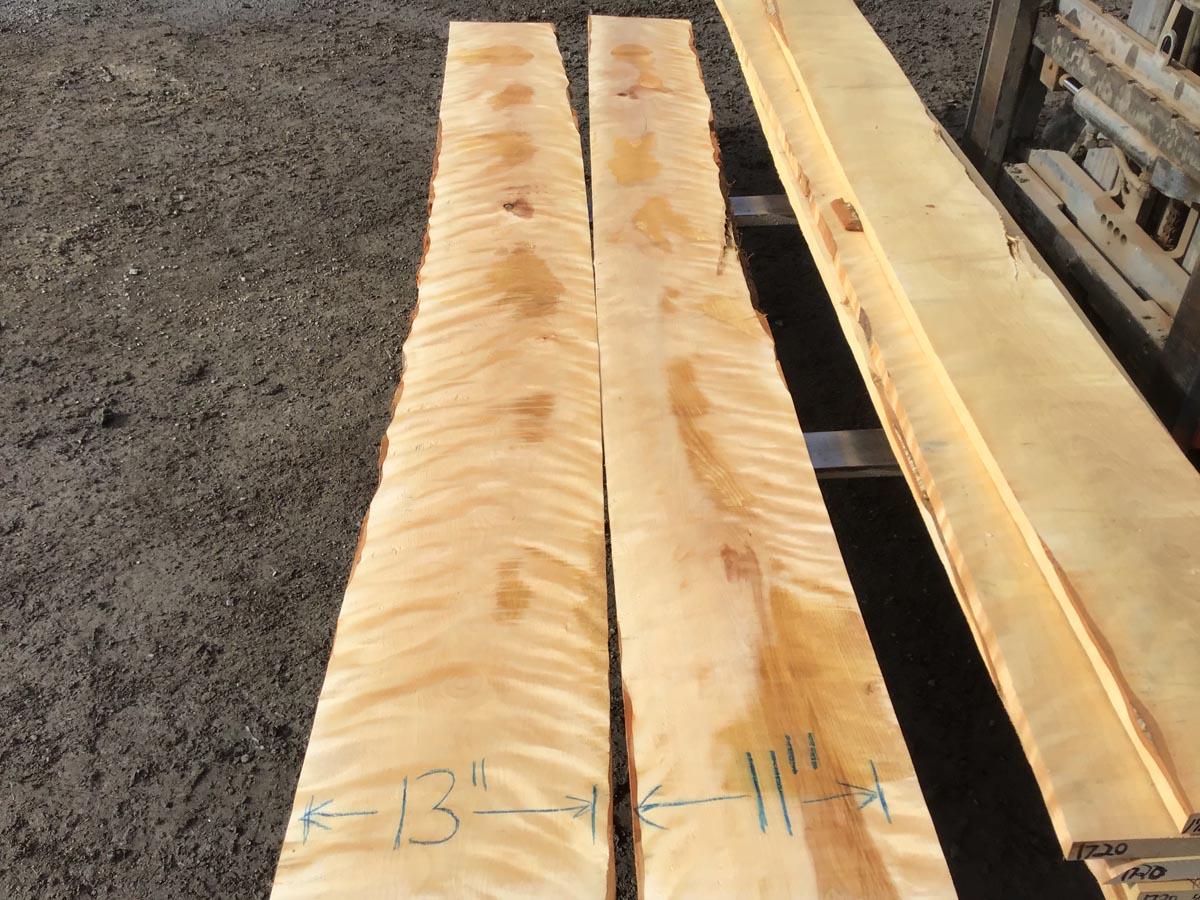 flame birch, wooden tops, hardwood lumber, premium lumber