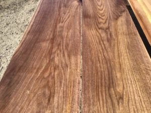 wide walnut lumber, unsteamed walnut, wooden tops