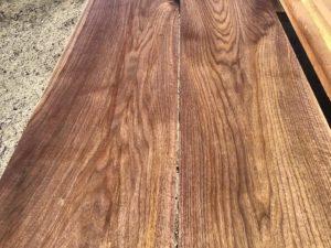wide walnut lumber, unsteamed walnut, wooden tops