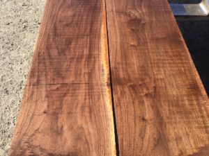 wide walnut lumber, premium lumber, unsteamed walnut