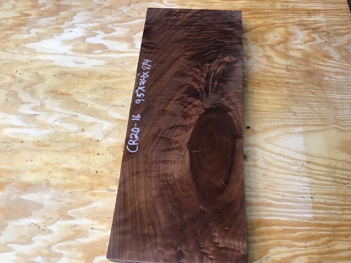 walnut crotch, 8/4 walnut crotch, door panels, drawer panels