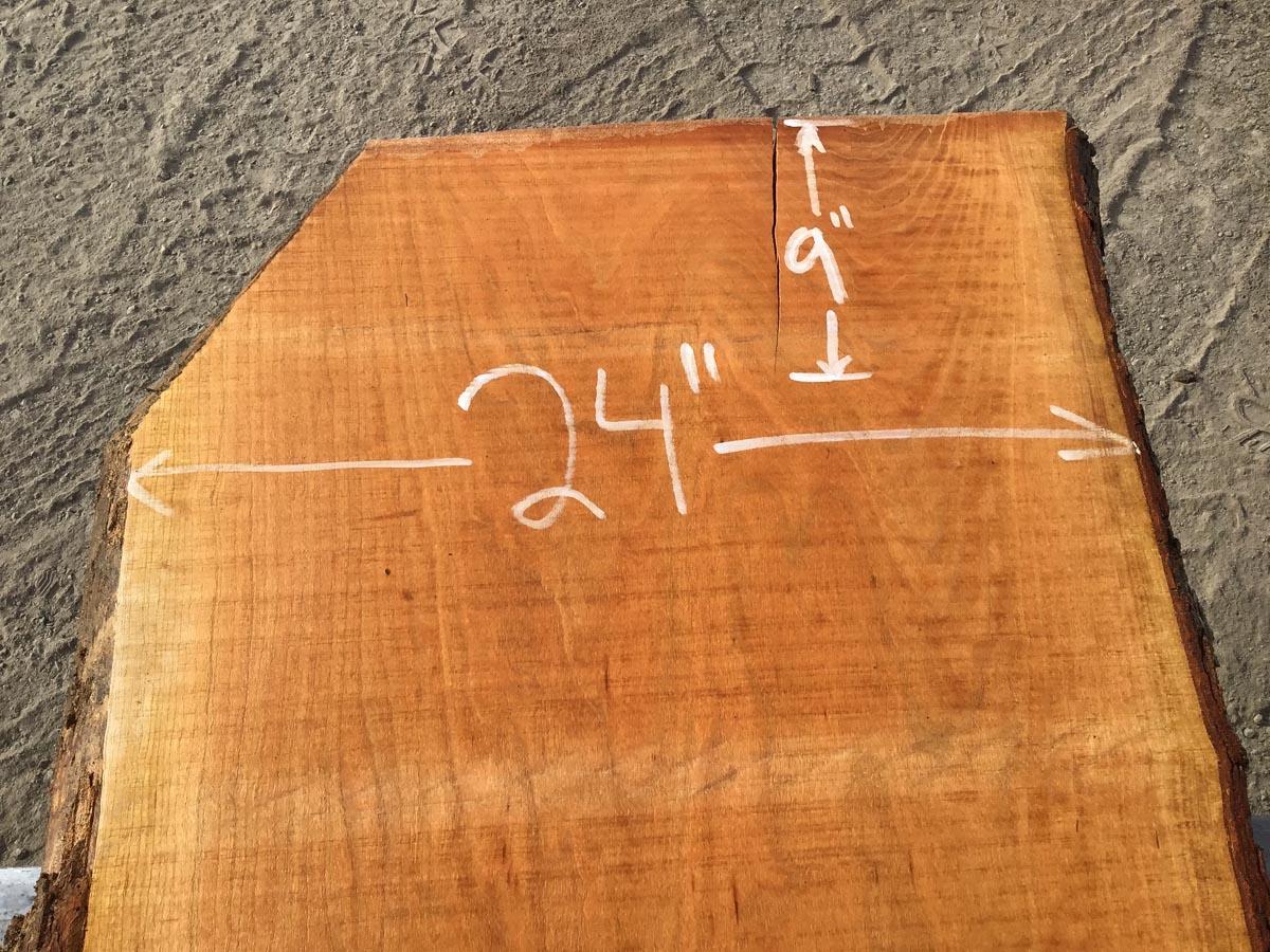 cherry slab, live edge cherry slab, wide tabletop, bar tops, wooden tops