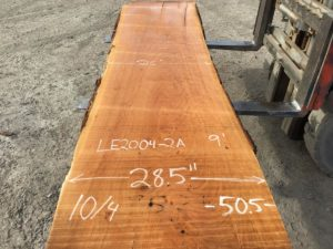cherry slab, live edge cherry slab, wooden tops, premium lumber