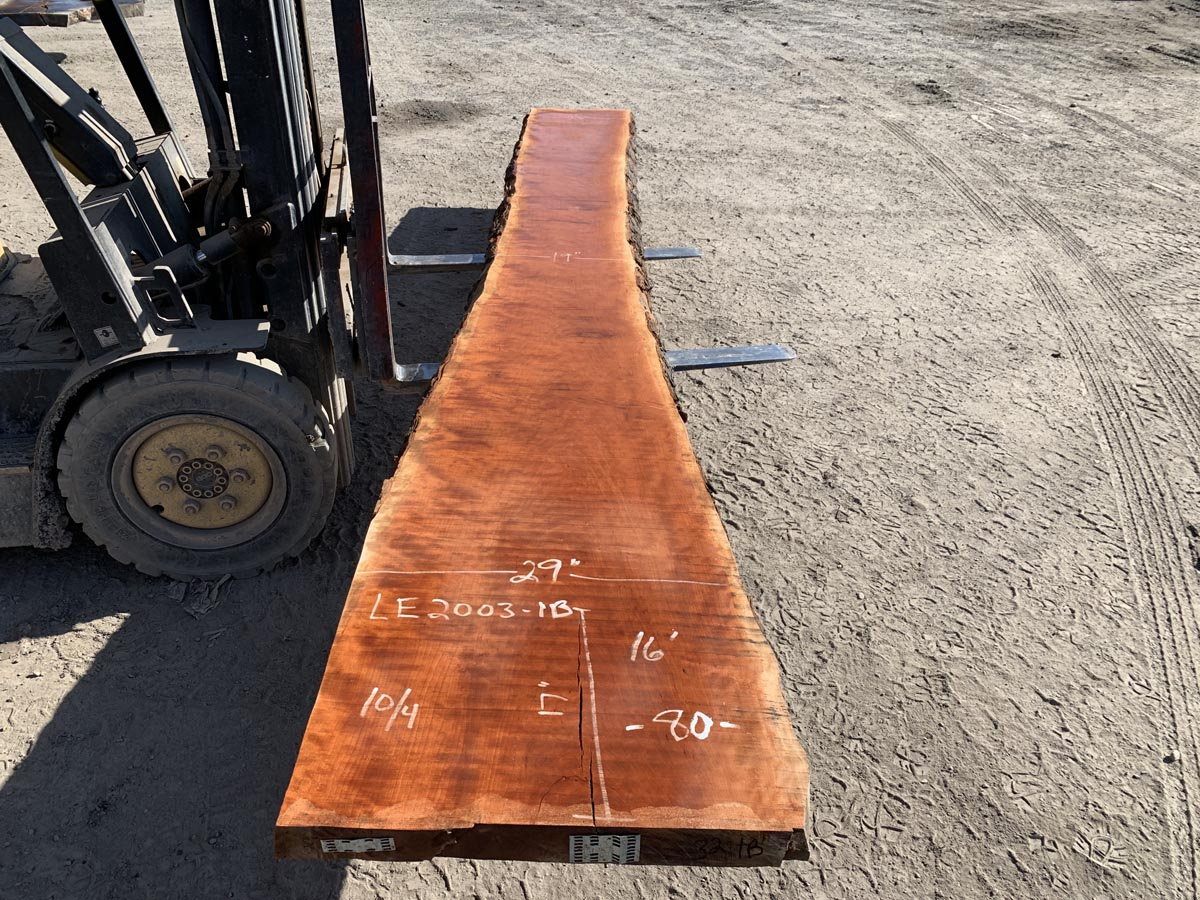 curly cherry slab, live edge curly cherry, curly cherry tabletops