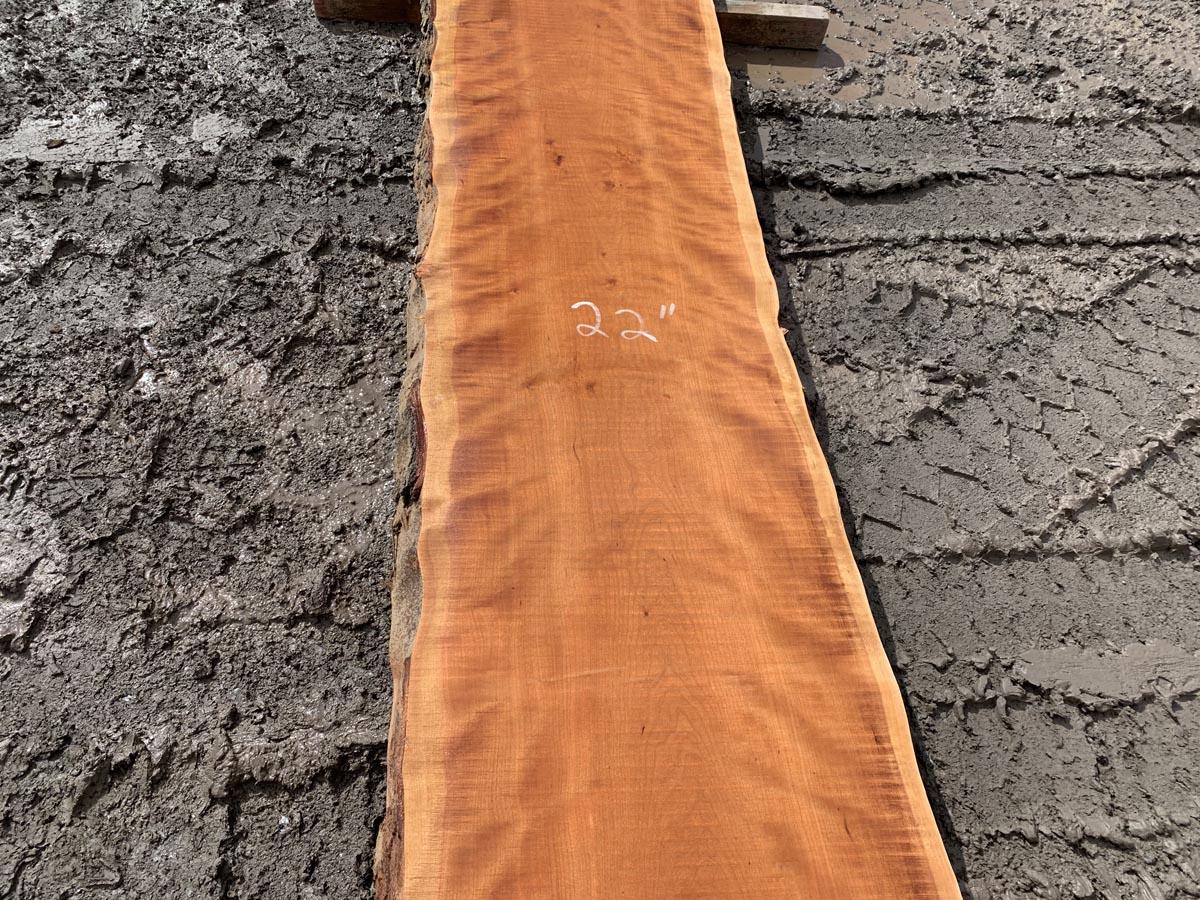 curly cherry lumber, live edge curly cherry, premium lumber, high quality curly cherry