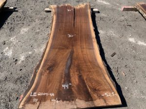 walnut slab, live edge walnut, wooden tops, hardwood tops