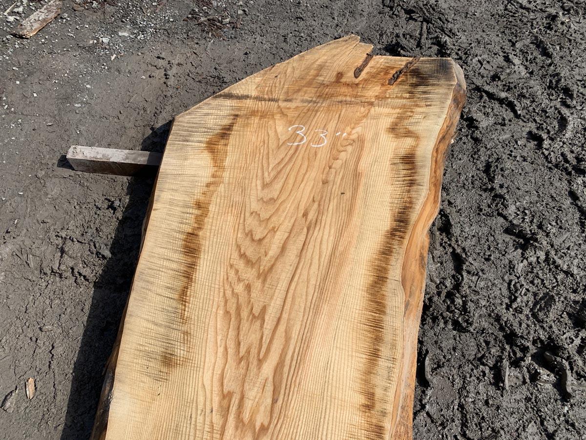 live edge ash, ash slab, hardwood tops, tabletops