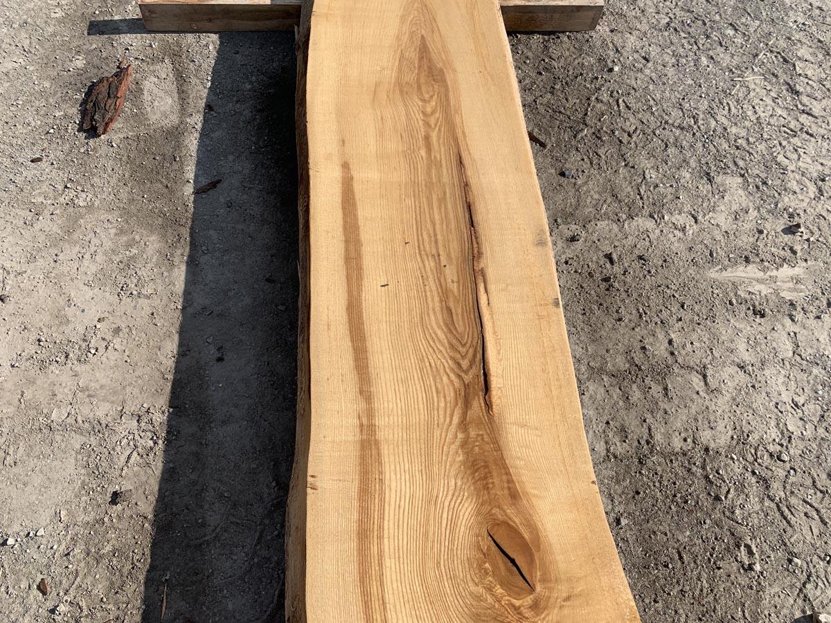live edge ash, wooden tops, tabletops