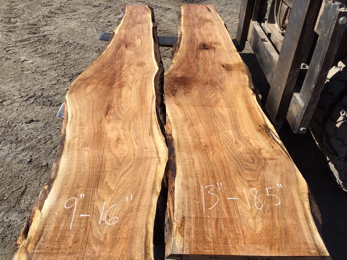 live edge butternut, wooden tops, tabletops