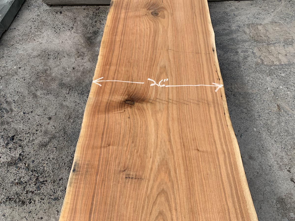 live edge butternut, wooden tops, tabletops