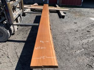 cherry live edge mantle, hardwood lumber, high quality lumber