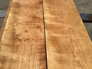 curly cherry lumber, high quality curly cherry, premium lumber