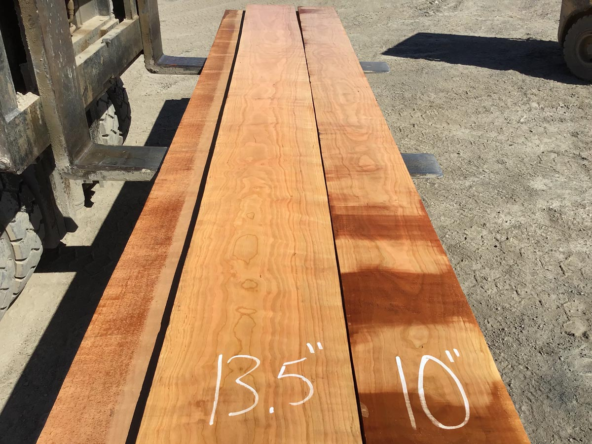 curly cherry lumber, tabletops, high quality curly cherry