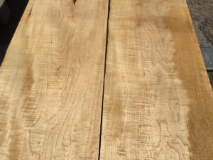 curly hard maple lumber, wooden tops, premium lumber