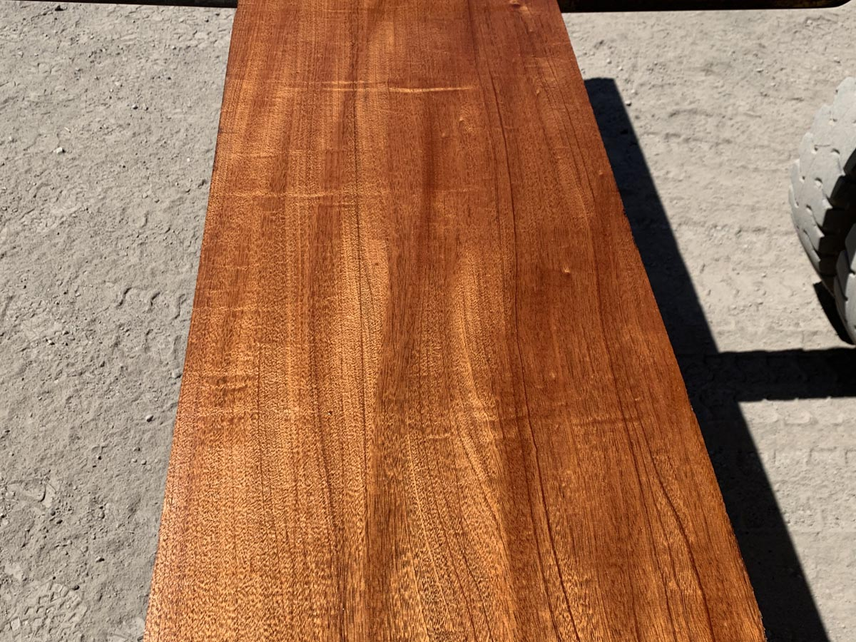 figured genuine mahogany, wooden tops, high quality lumber, 10/4