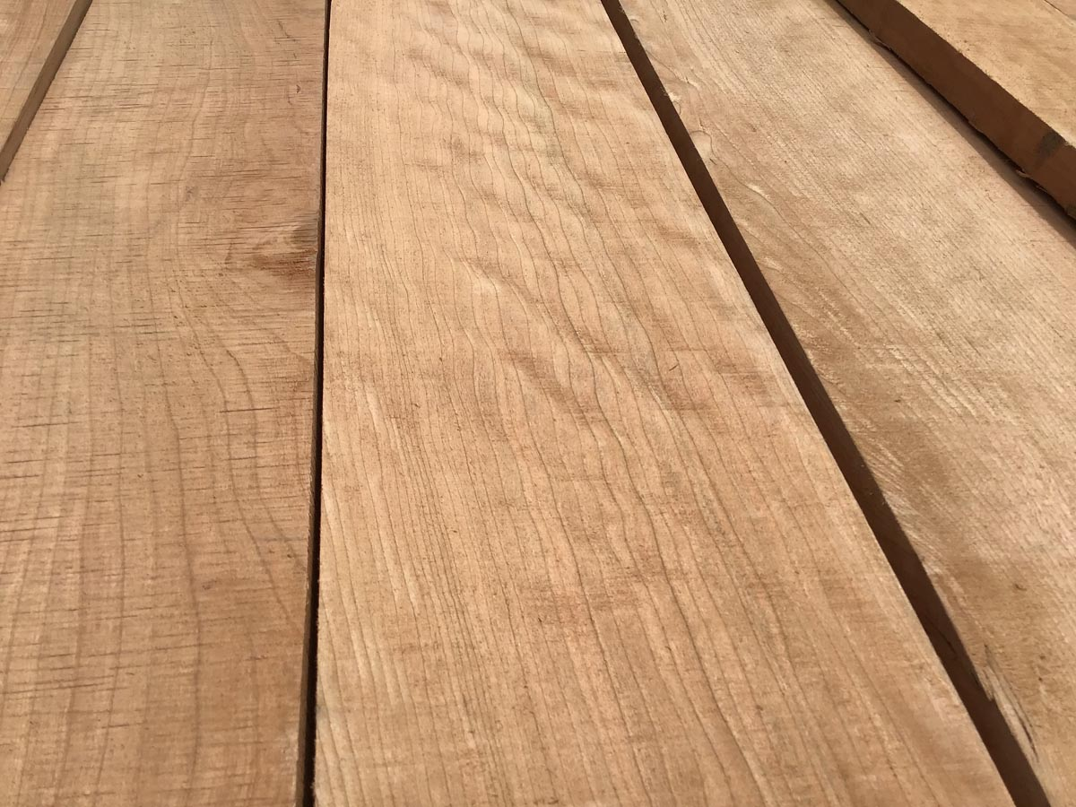 cherry grade lumber, quartersawn cherry, wooden tops, premium lumber