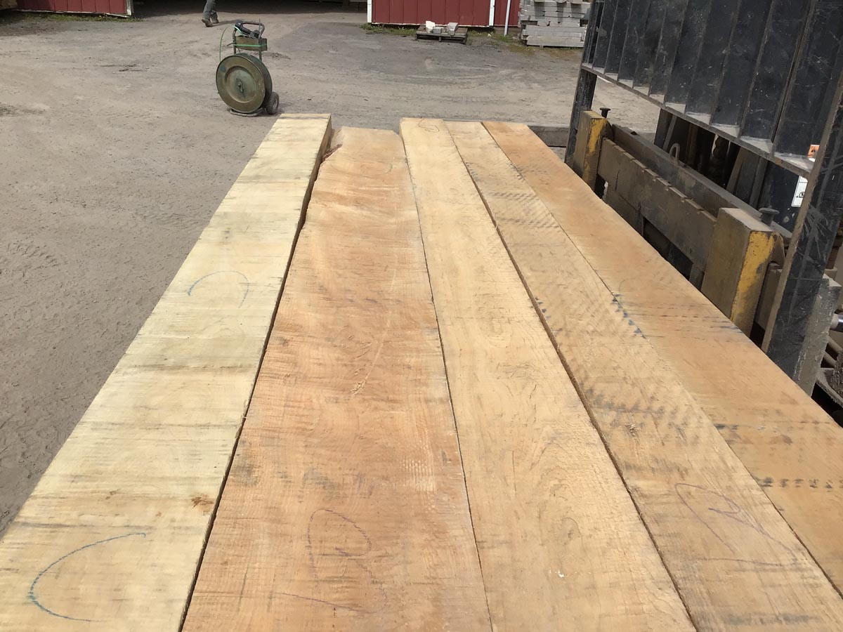 tiger maple grade lumber, high quality lumber, hardwood tops