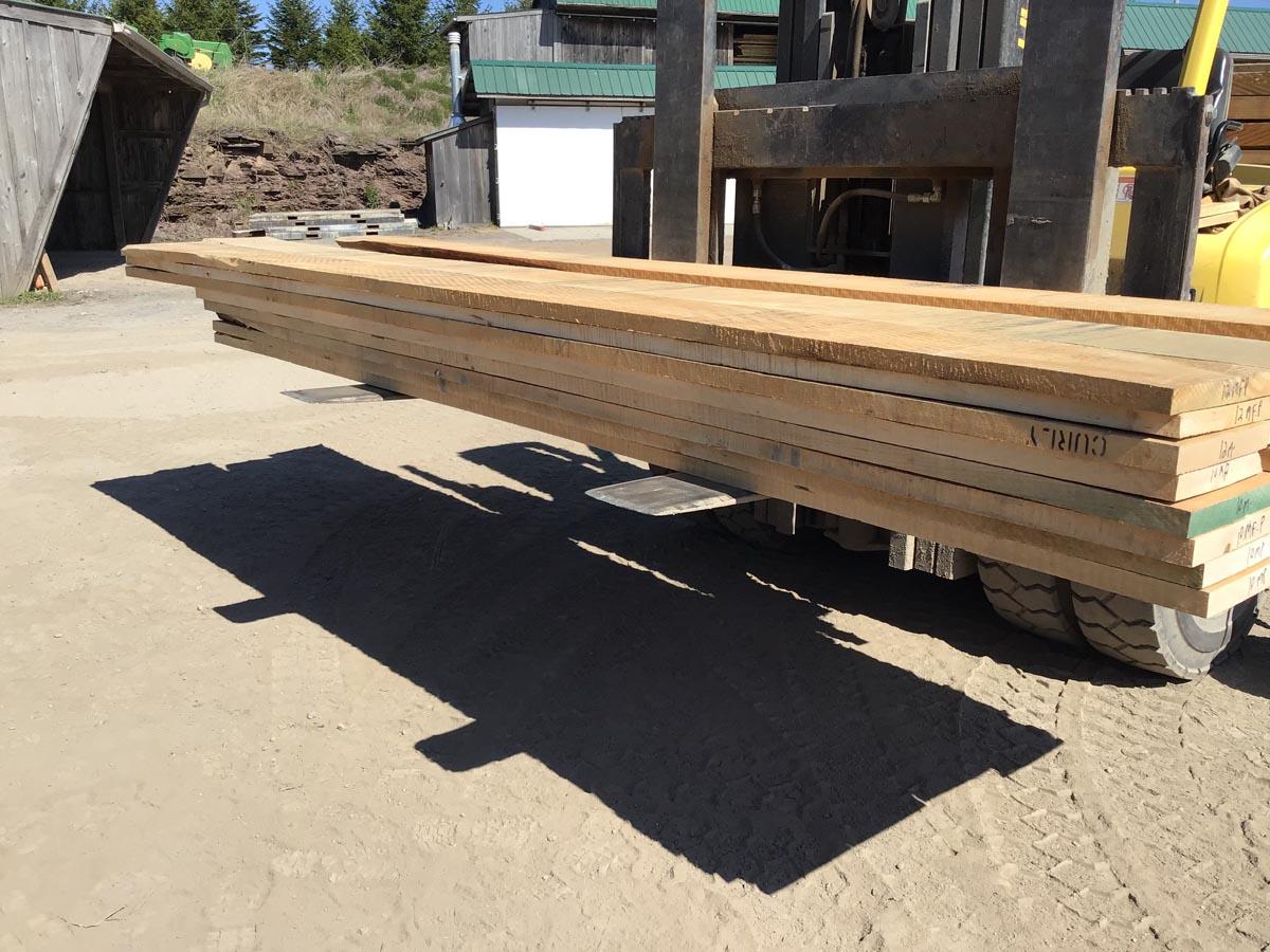 tiger maple grade lumber, wooden tops, premium lumber