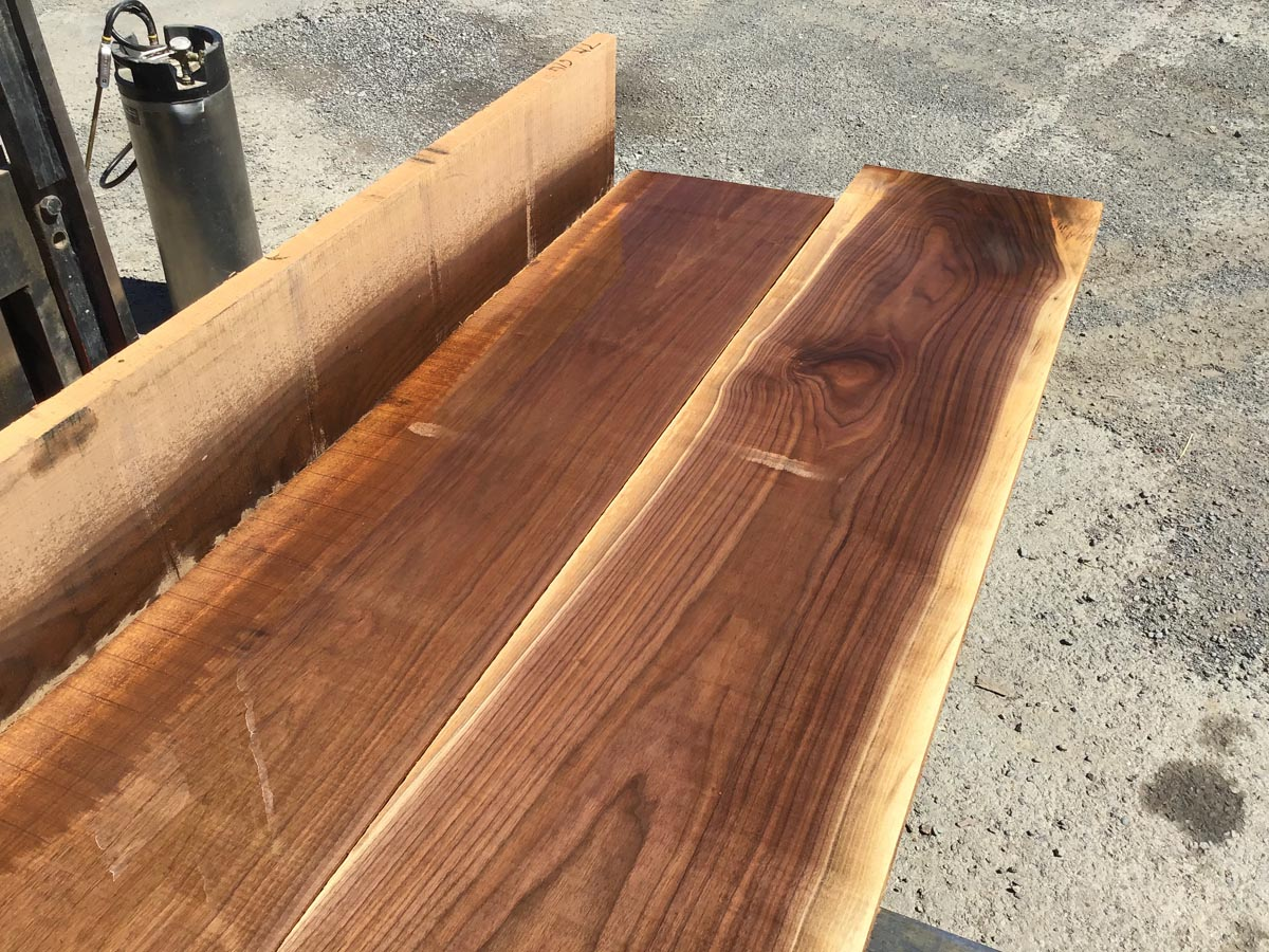 walnut lumber, unsteamed walnut, premium hardwood