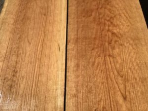 cherry lumber matched set, hardwood tops, premium lumber