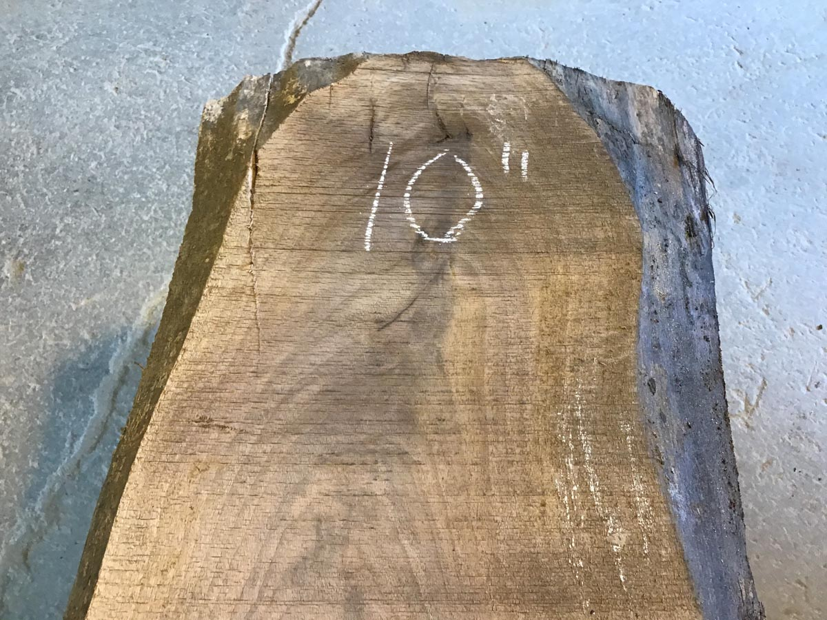 walnut side table, wooden tops, end table, rustic table