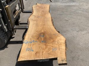 live edge figured ash, live edge slab, hardwood lumber, high quality lumber