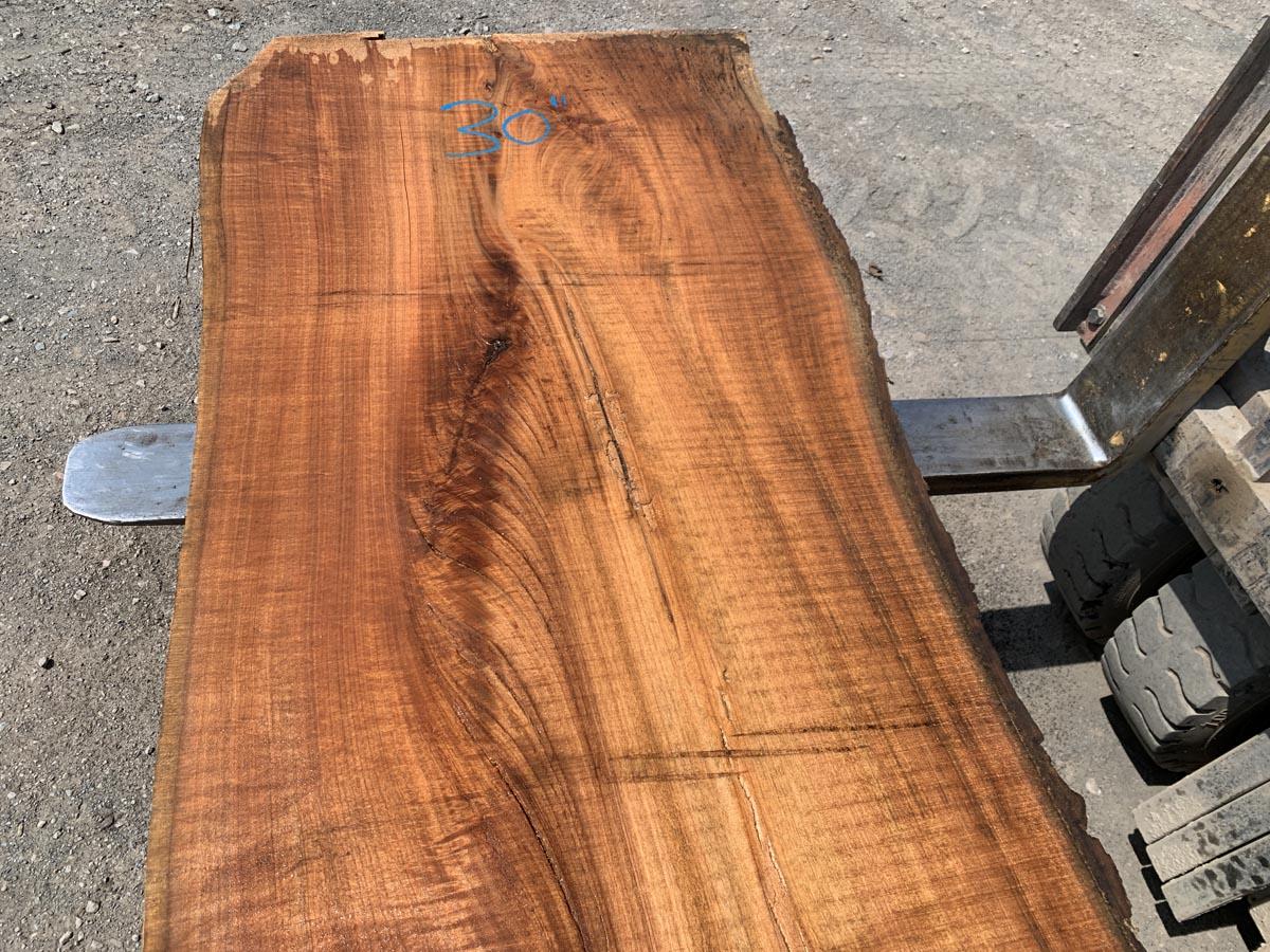 live edge butternut slab, rustic tops, hardwood tops, high quality lumber