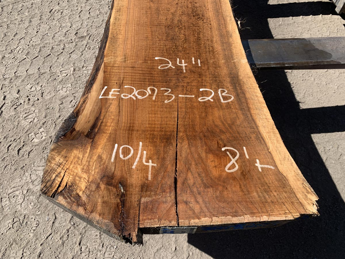 live edge butternut slab, rustic tops, hardwood tops, high quality lumber