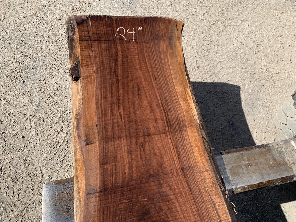 live edge walnut, walnut slab, high quality lumber, premium lumber, unsteamed walnut