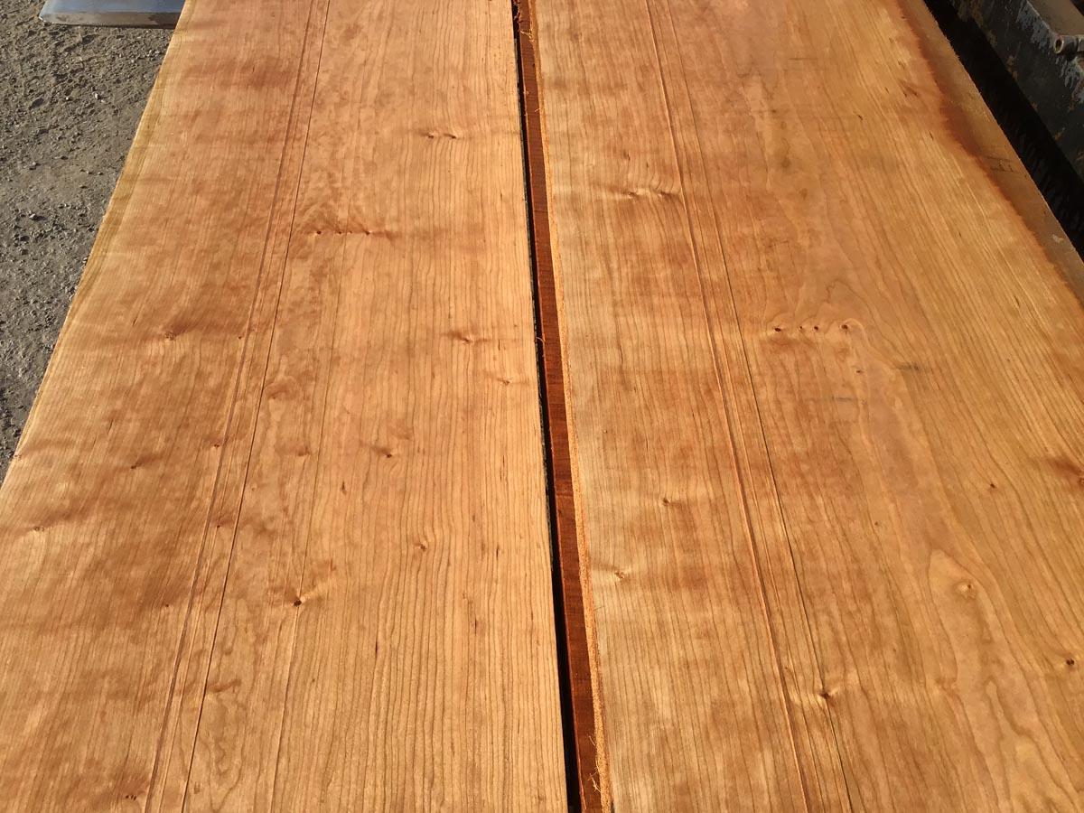 wide cherry lumber, hardwood tops, high quality lumber