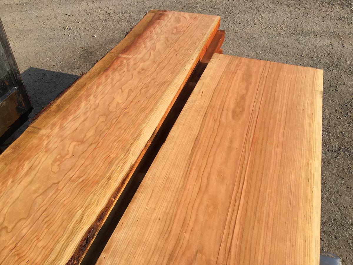 wide cherry lumber, wooden tops, hardwood lumber, premium lumber