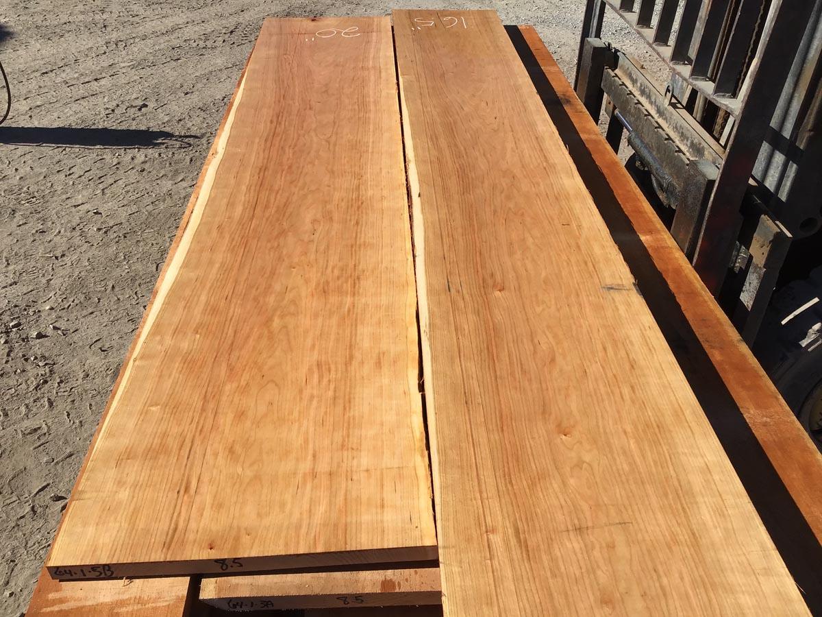 wide cherry lumber, wooden tops, premium lumber
