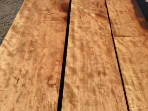 curly cherry lumber, heavy stock, 8/4, high quality lumber