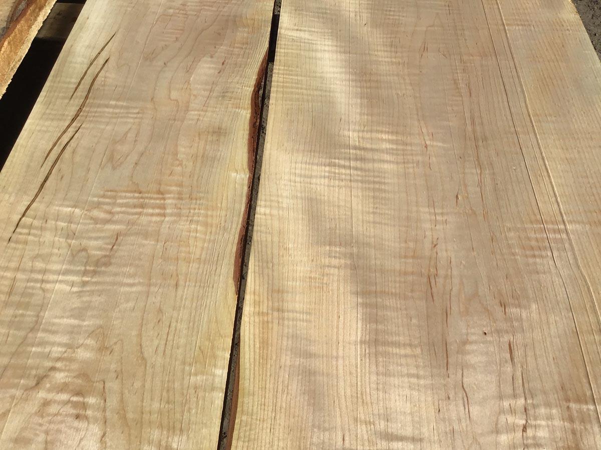 tiger maple lumber, hardwood tops, wooden tops