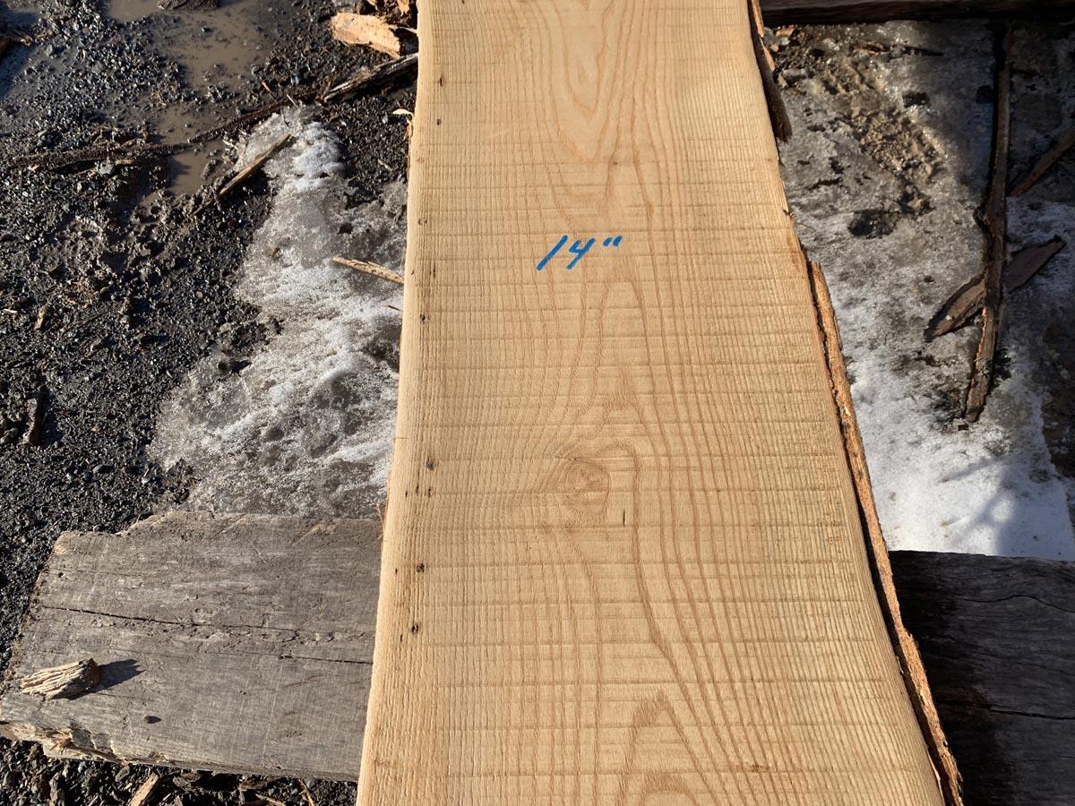 live edge ash, wooden tops, rustic lumber, hardwood lumber
