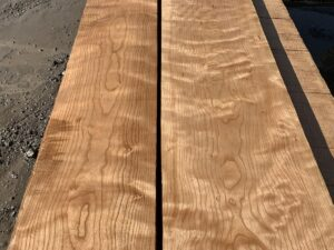 curly cherry lumber, hardwood tops, wooden tops