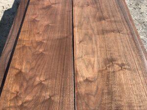 figured walnut lumber, unsteamed walnut, high quality walnut