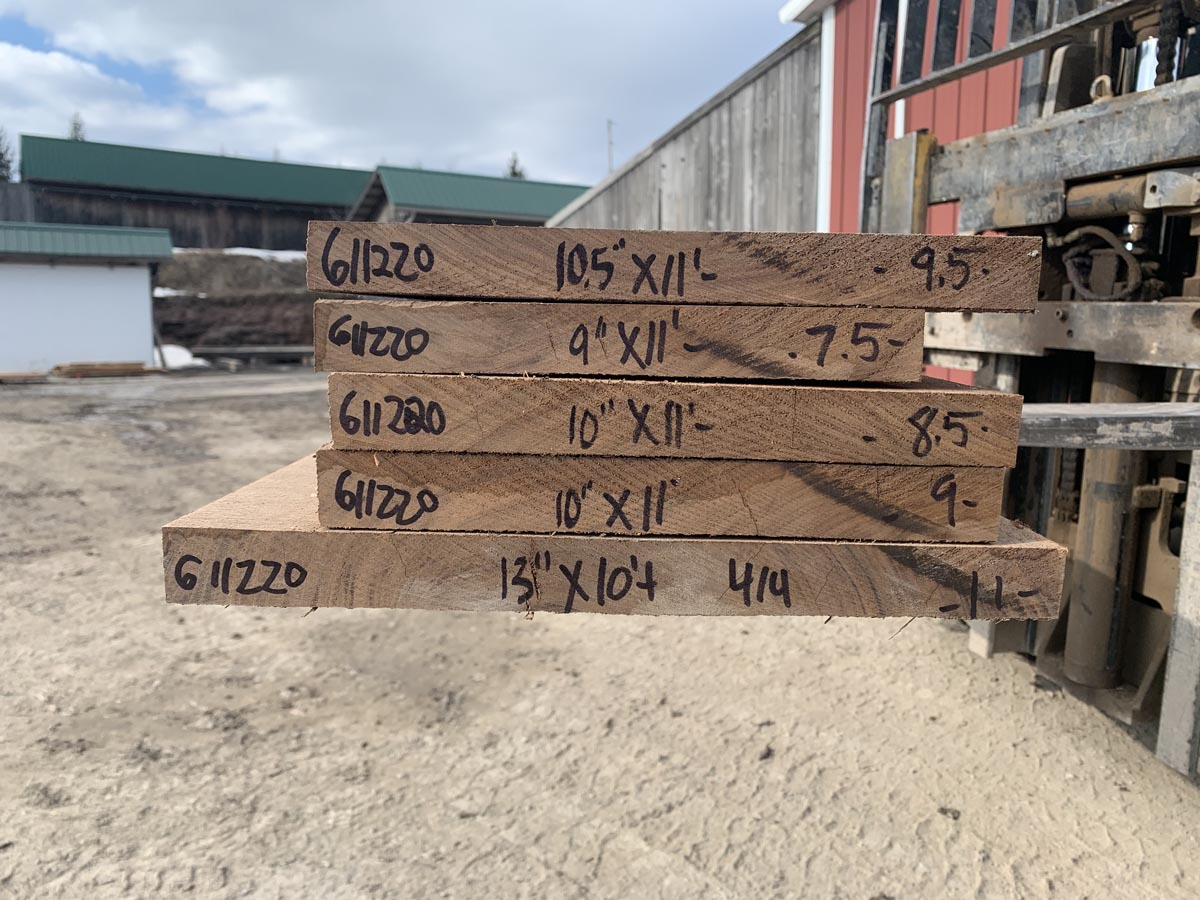 figured walnut lumber, premium lumber, high quality lumber