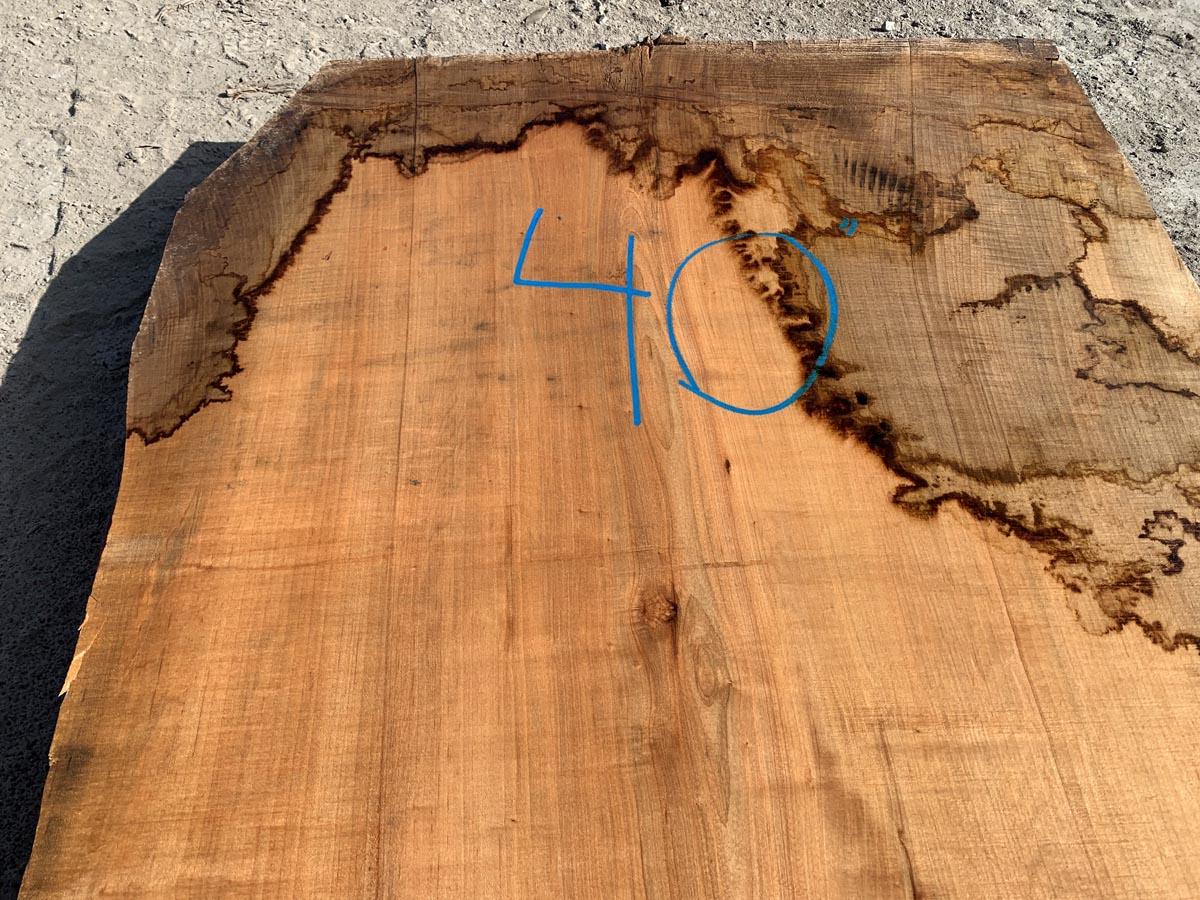 live edge maple slab, wooden tops, premium lumber