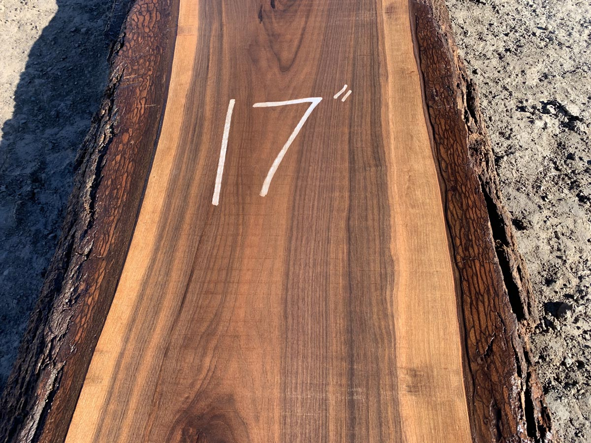 live edge walnut slab, wooden tops, premium lumber