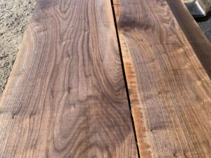 wide walnut lumber, high quality lumber, unsteamed walnut