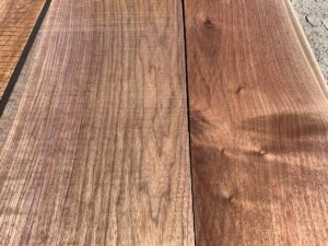 walnut lumber, unsteamed walnut, high quality walnut, wide walnut
