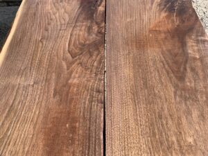 wide walnut lumber, unsteamed walnut, premium lumber