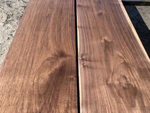 wide walnut lumber, premium lumber, unsteamed walnut