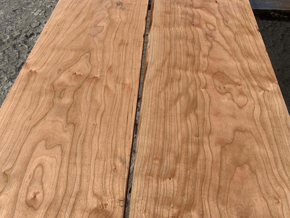 curly cherry lumber, wooden tops, premium hardwood