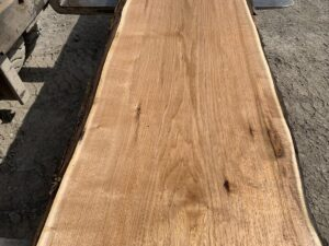 live edge butternut lumber, hardwood tops, rustic tabletops