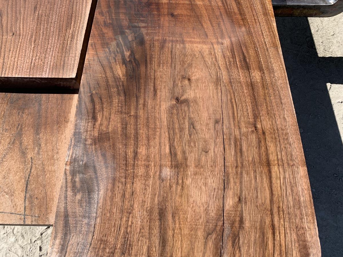 walnut lumber, unsteamed walnut, hardwood tops
